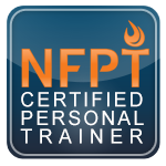 The national federation of professional trainers badge that coach Vlad has received
