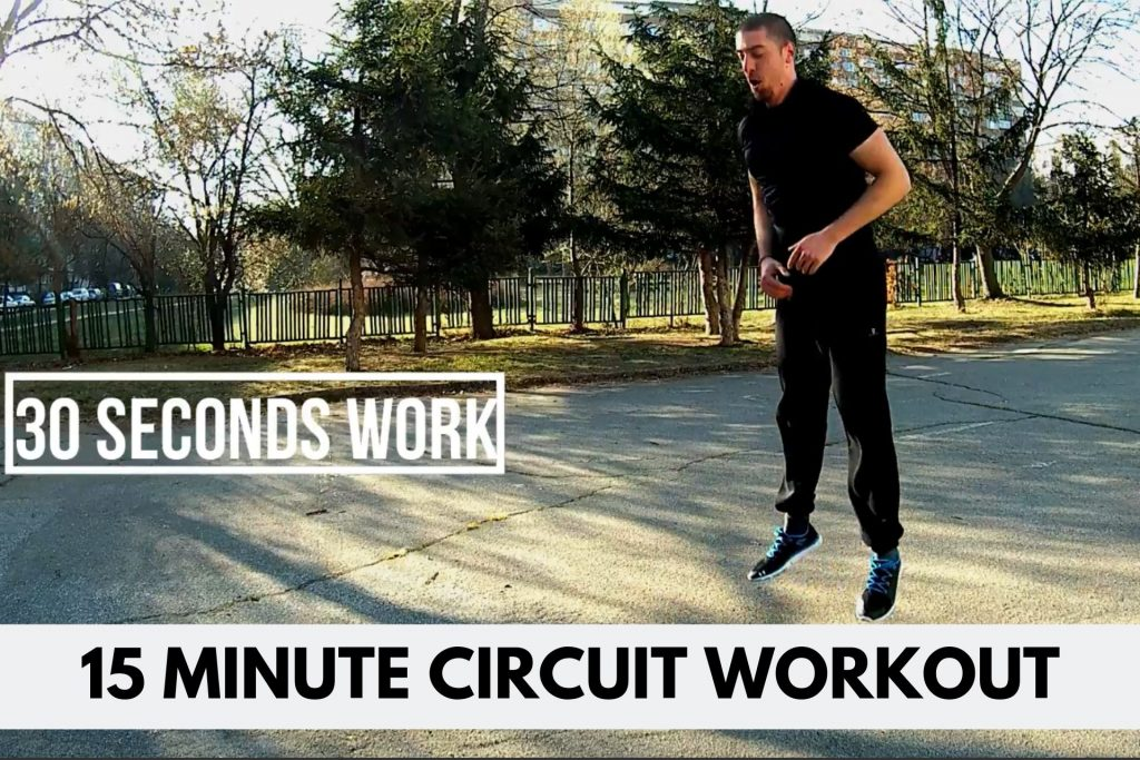 circuit workout for men