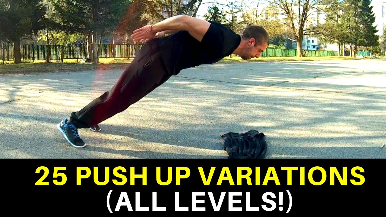 25 PUSH UP VARIATIONS (2)