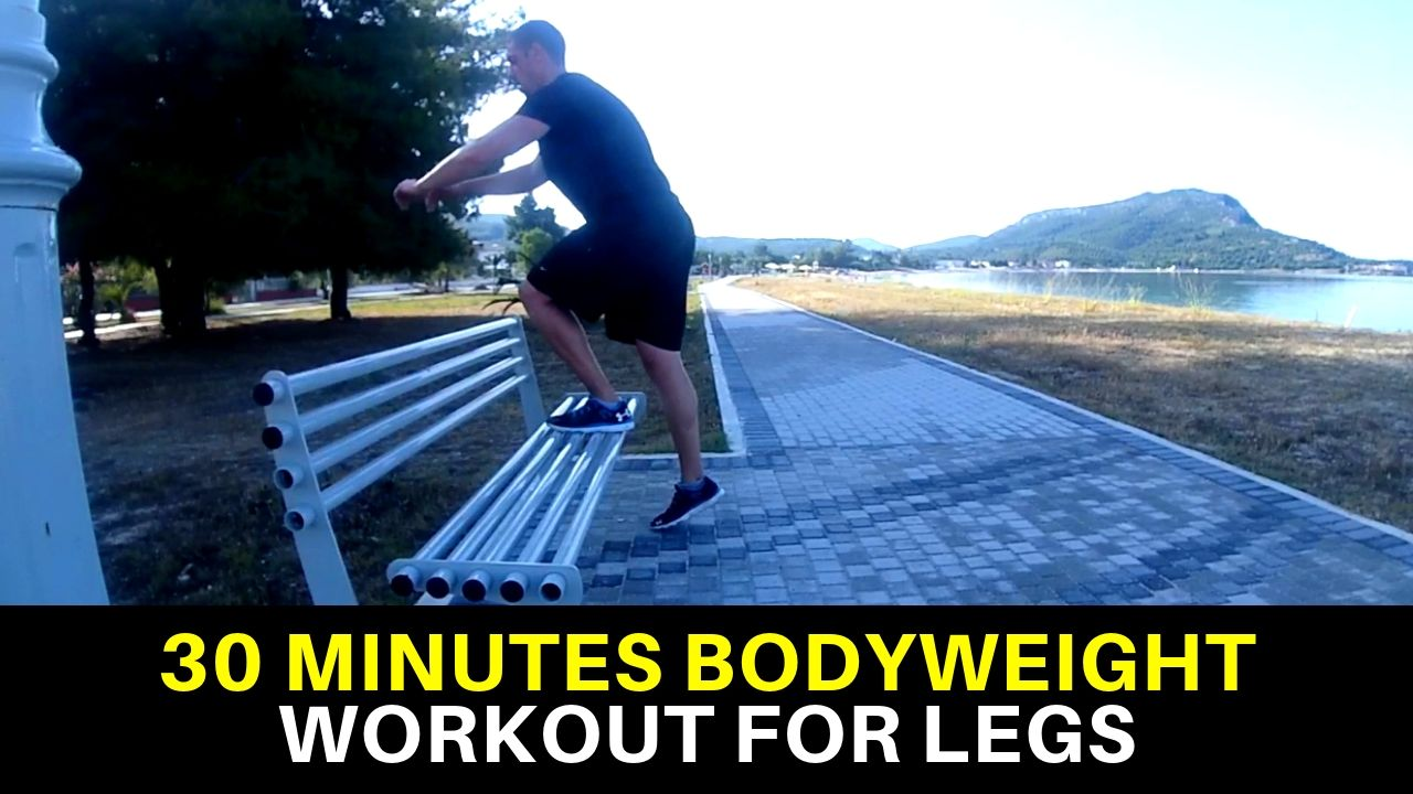 Bodyweight Workout for Legs 1