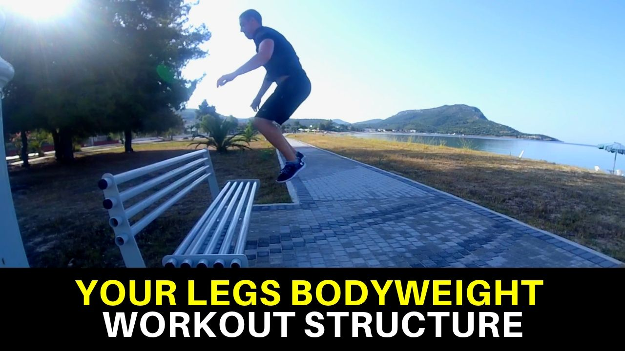 bodyweight workout for legs