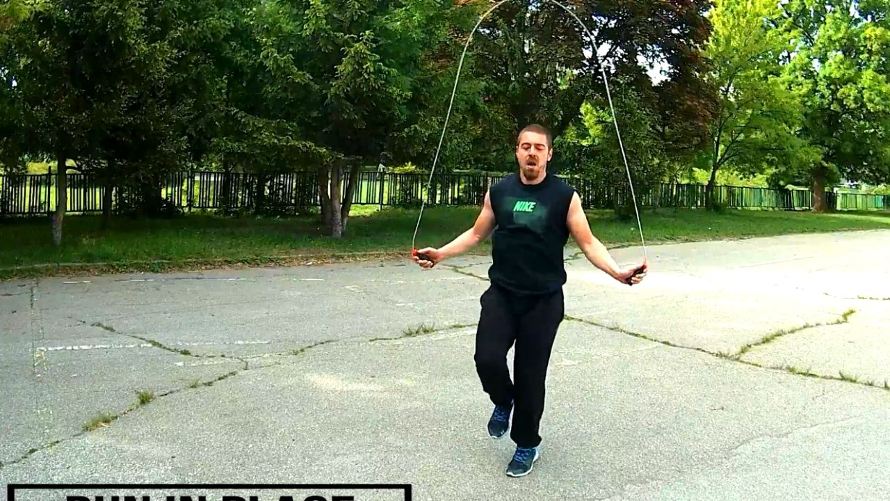 Daily workout jump rope