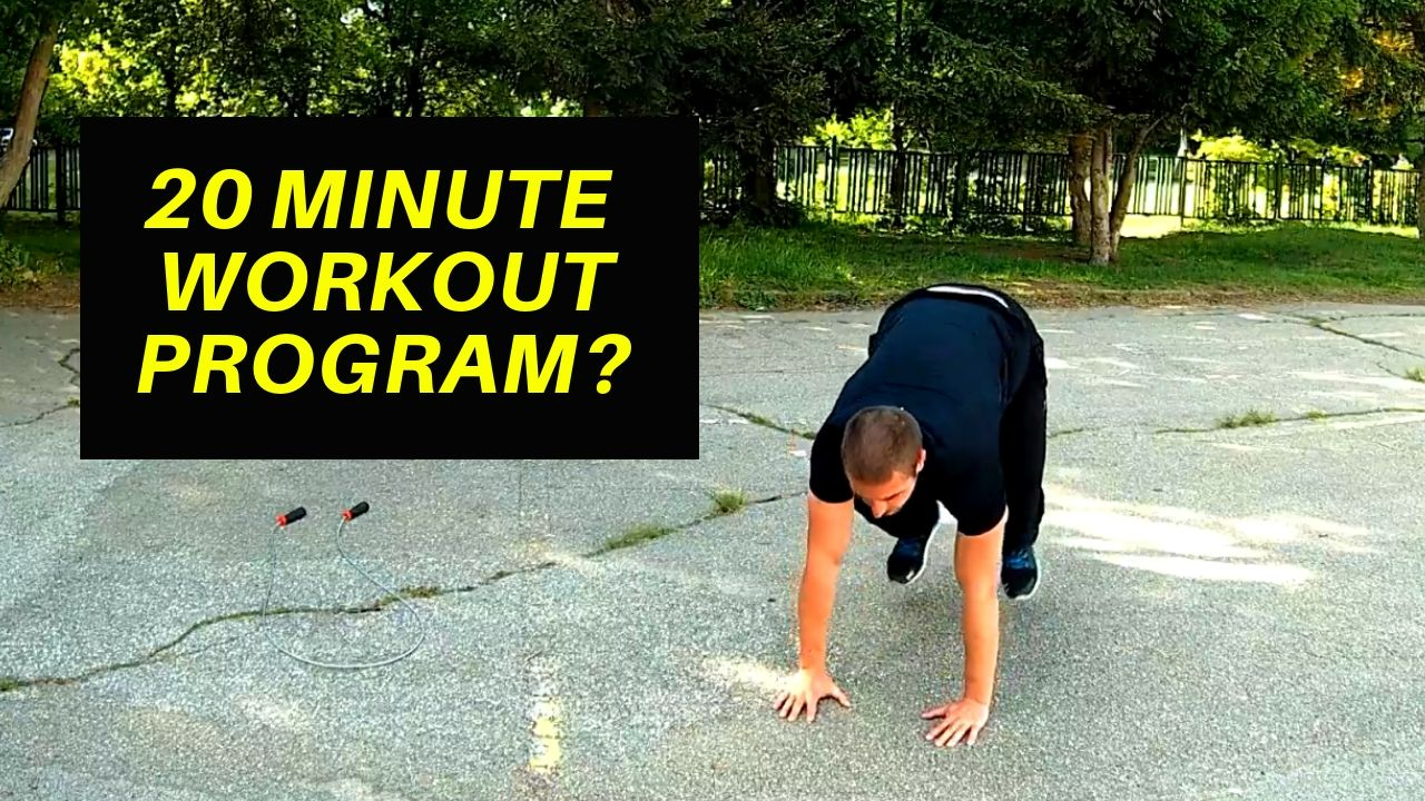 20 MInute Home Workout 5