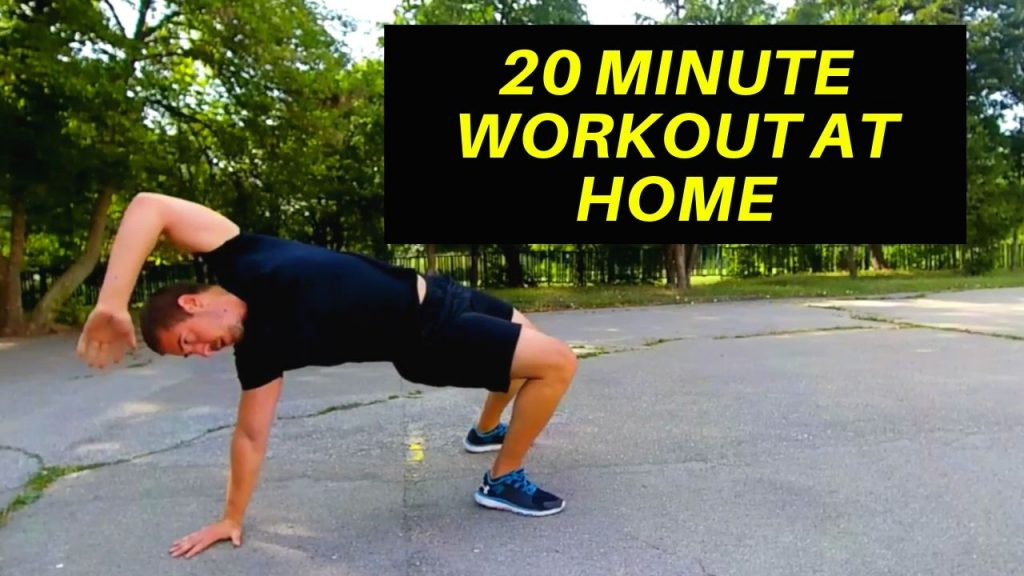 20 Minute Workout at Home