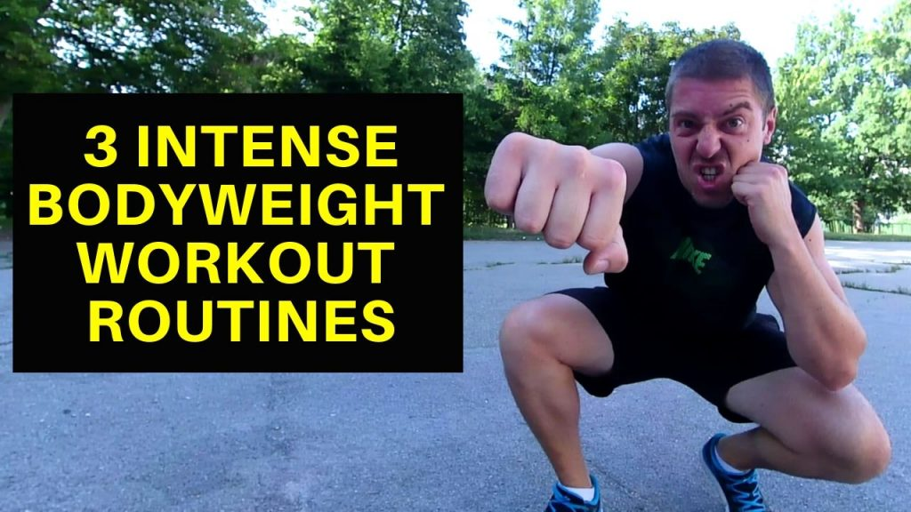 Bodyweight Workout Routines 1