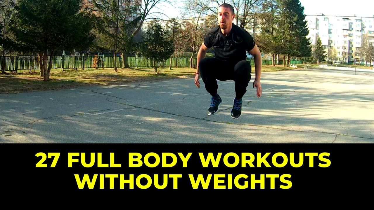 Full body workouts without weights