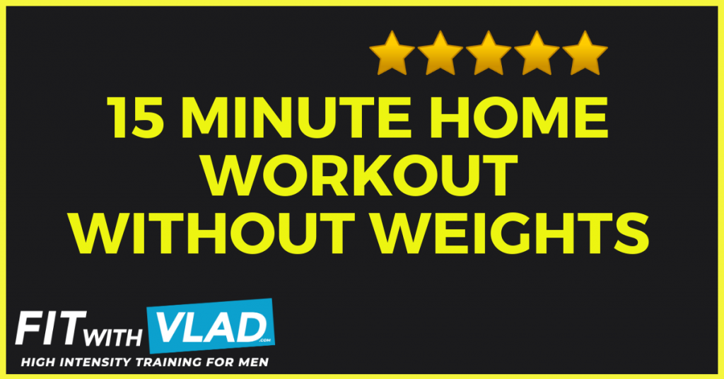at home workouts without weights
