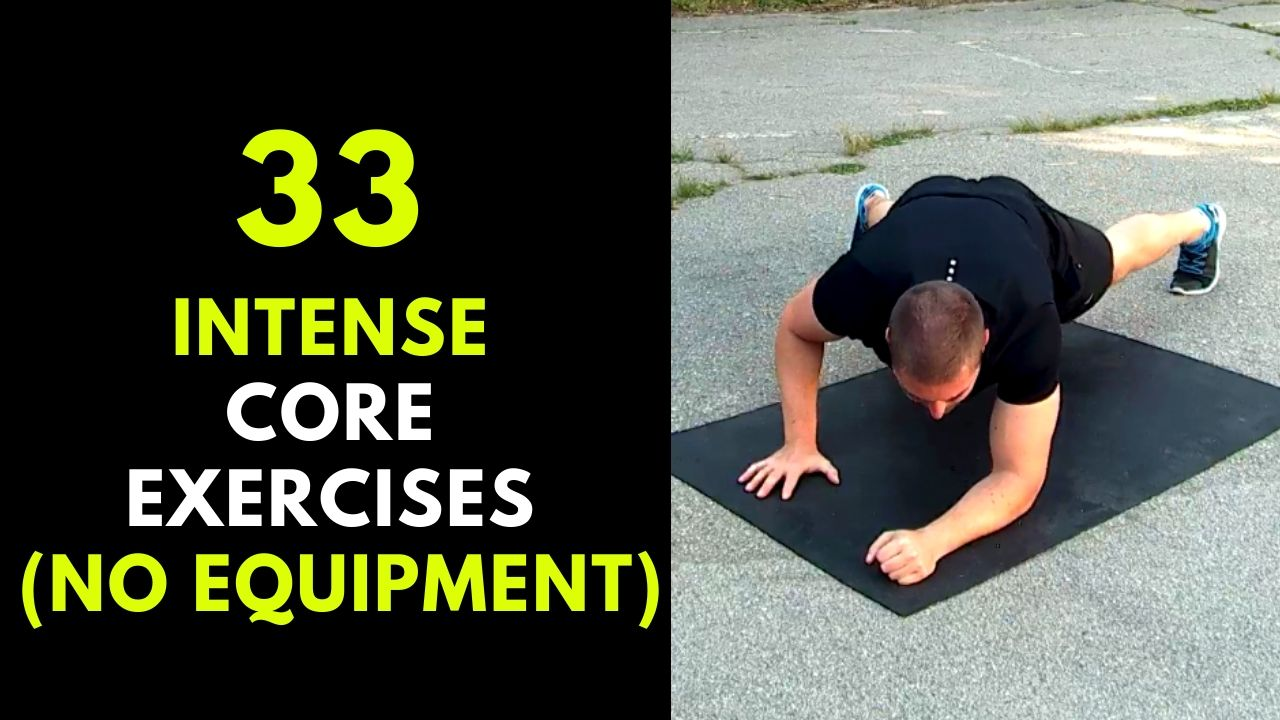 33 Core Exercises For Men
