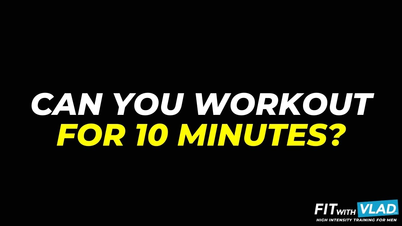 Can You Workout For 10 Minutes (10 minute beginner workout)