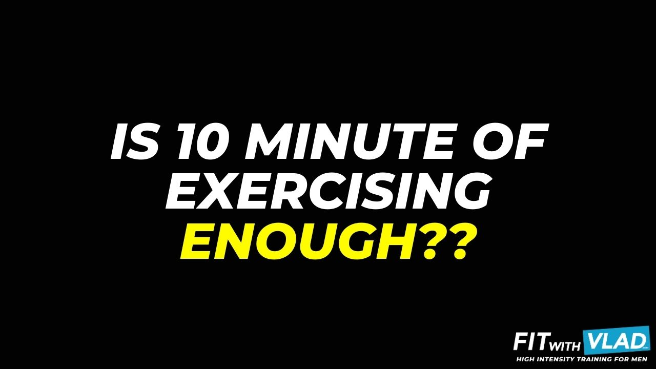 Is Exercising 10 Minutes a Day Enough (10 minute beginner workout)
