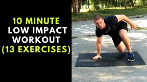 10 Minute Low Impact Workout (Cardio Routine For Beginners)