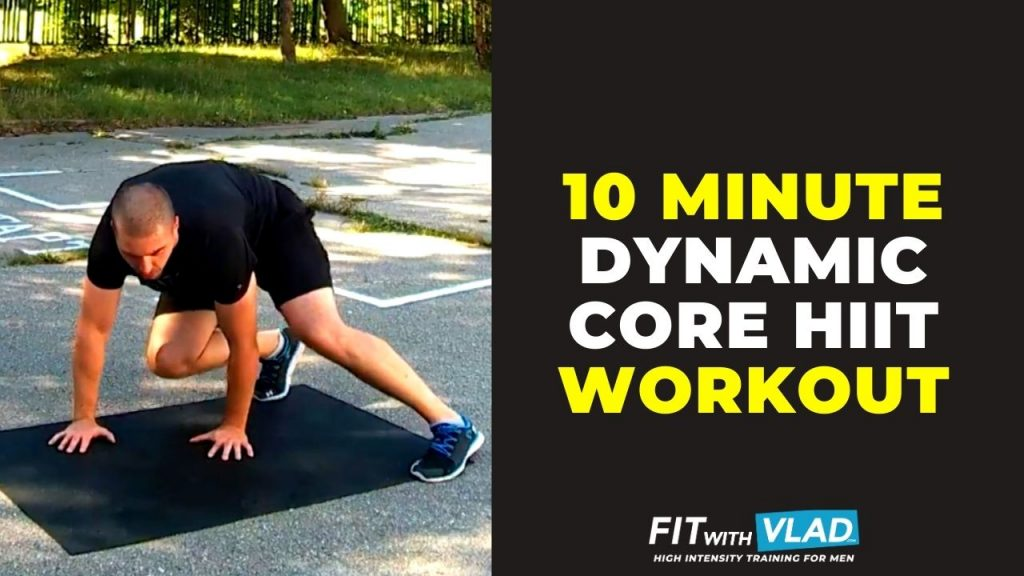 10 Minute Core Workout At Home (HIIT Bodyweight Routine)