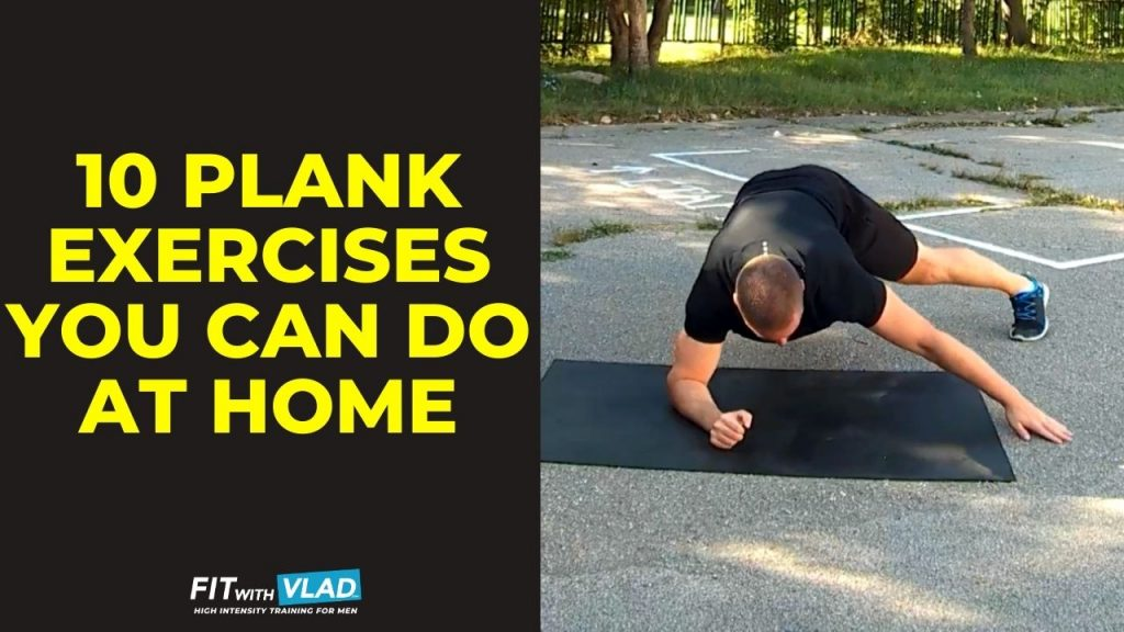 10 Plank Exercises At Home (Get Strong Core!)