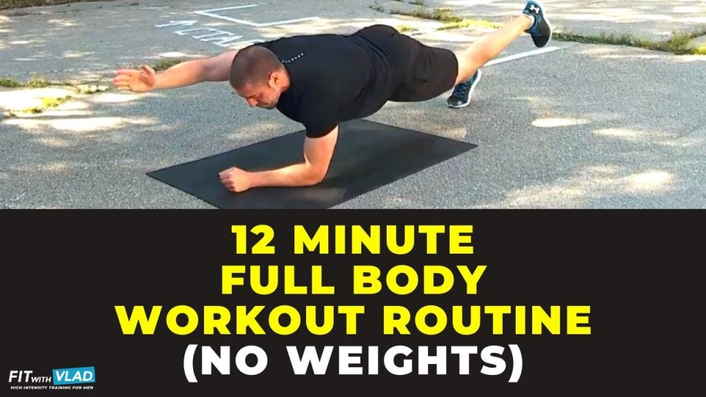 12 Minute Full Body Workout Routine at Home