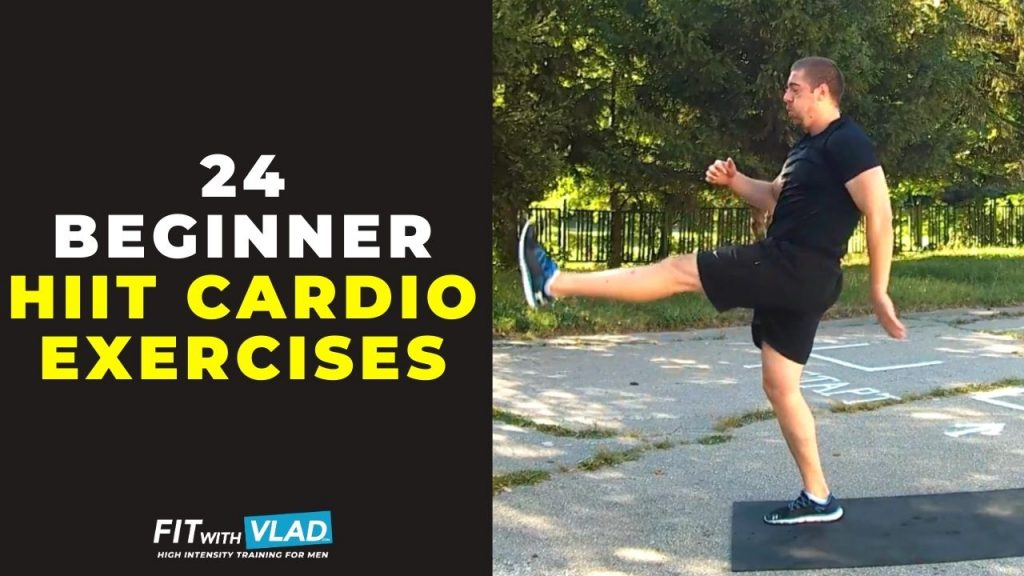 24 Beginner HIIT Exercises (Bodyweight Cardio Moves!)