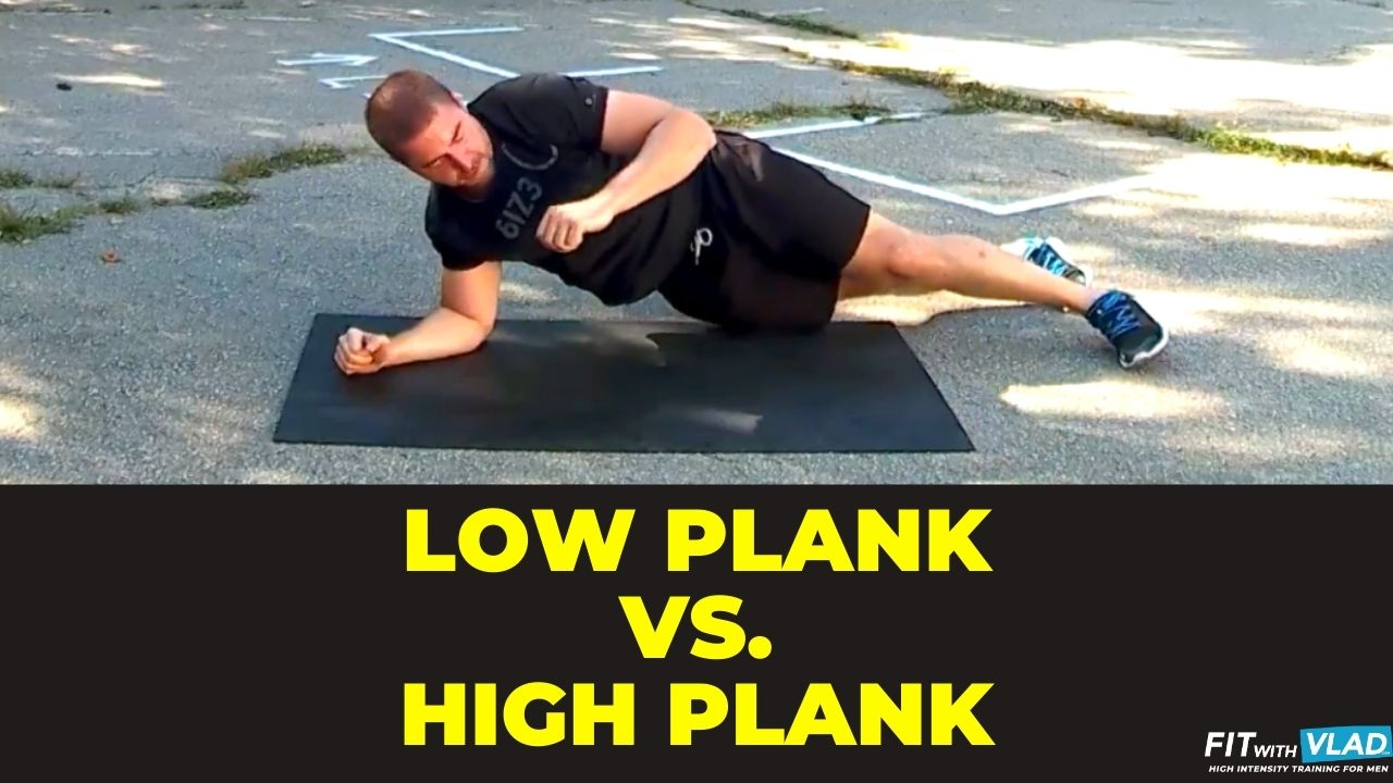 Elbow Plank vs. Full Plank
