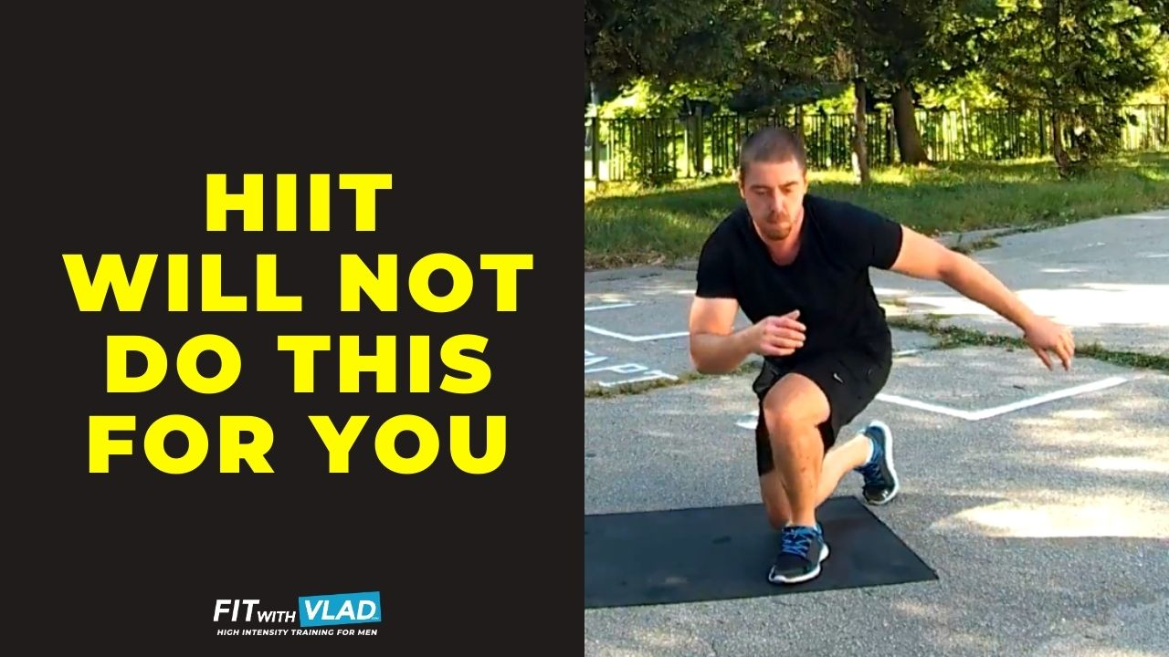 HIIT will not do this for you