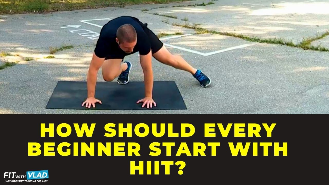 How should every beginner start with HIIT