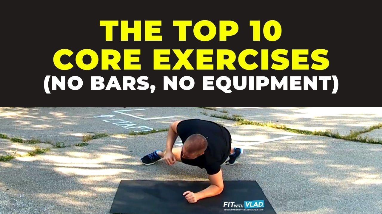 Top 10 Core Exercises Without Equipment (calisthenics)