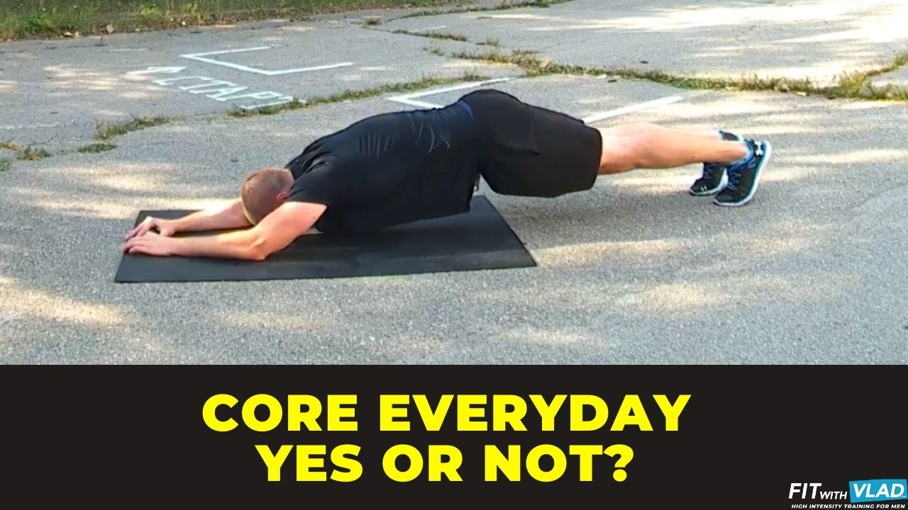 can you train your core everyday
