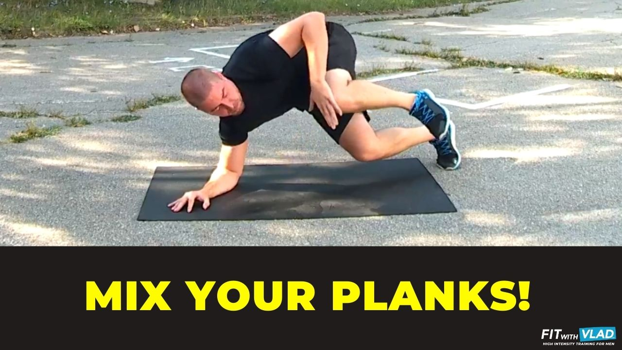 plank exercises at home