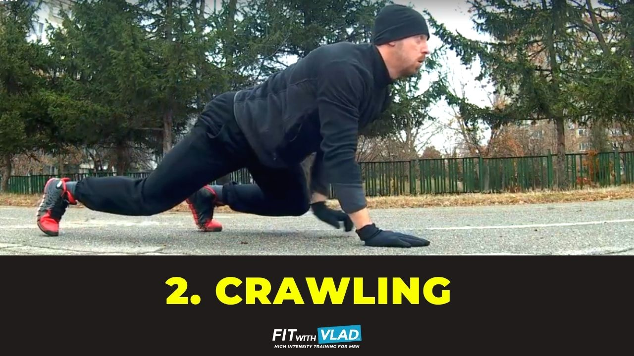 top 10 core exercises without equipment - Crawling
