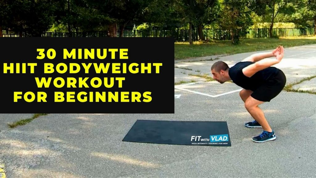 30 Minute HIIT Bodyweight Workout For Beginner (Total Body)