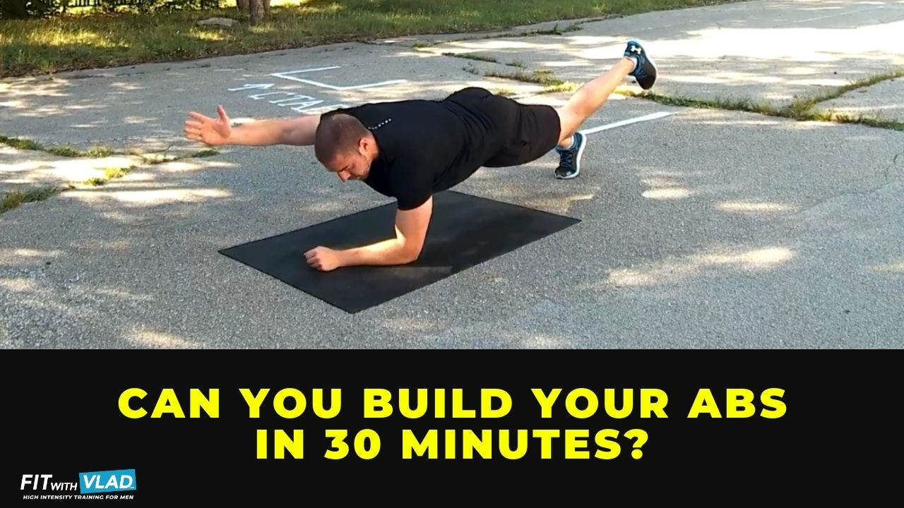 Can you build your abs in 30 minutes
