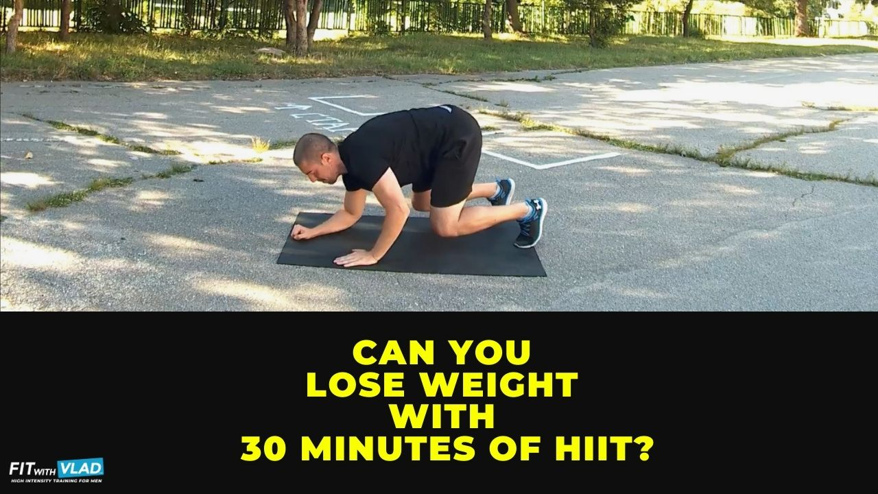 Can you lose weight with 30 minute HIIT bodyweight workouts