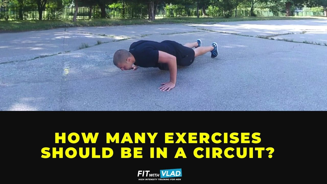 How Many Exercises Should Be In A Circuit