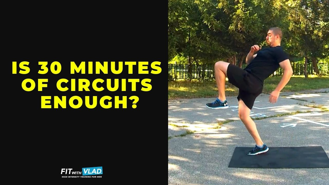 Is 30 minutes circuit workout enough to lose weight as a beginner