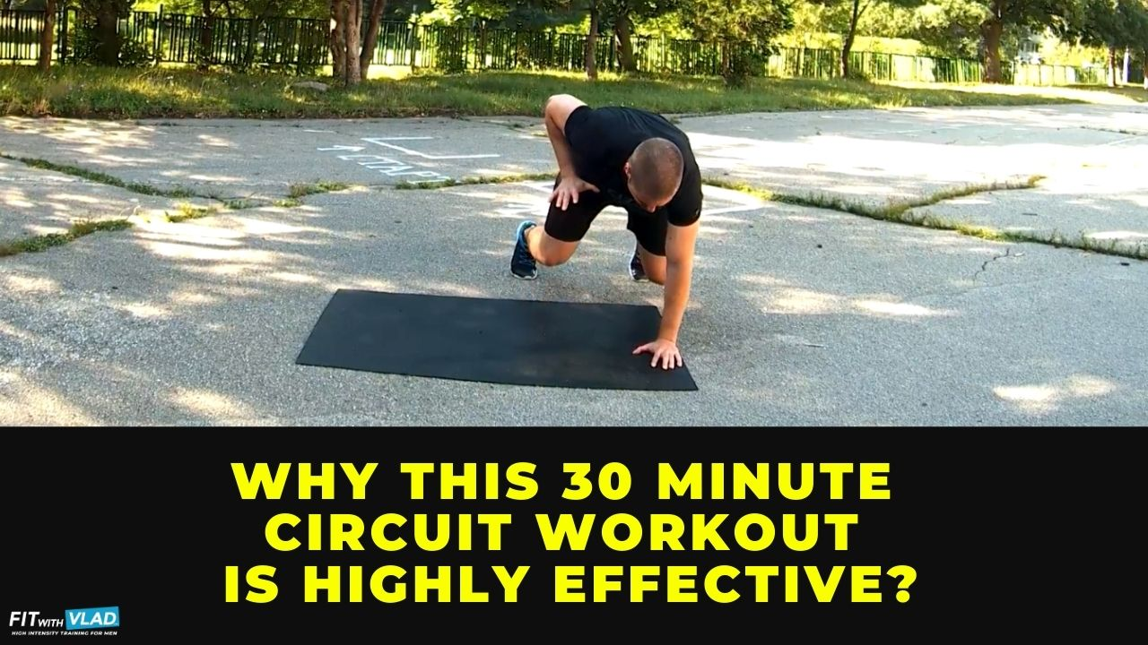 What is the best 30 minute circuit workout (no equipment)