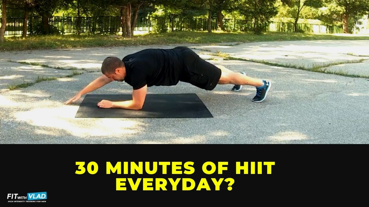 Can you do 30 minutes of HIIT everyday
