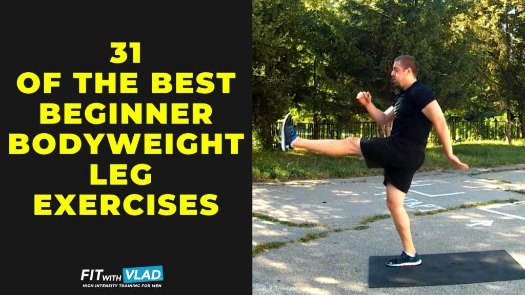 Best bodyweight leg exercises for beginners at home