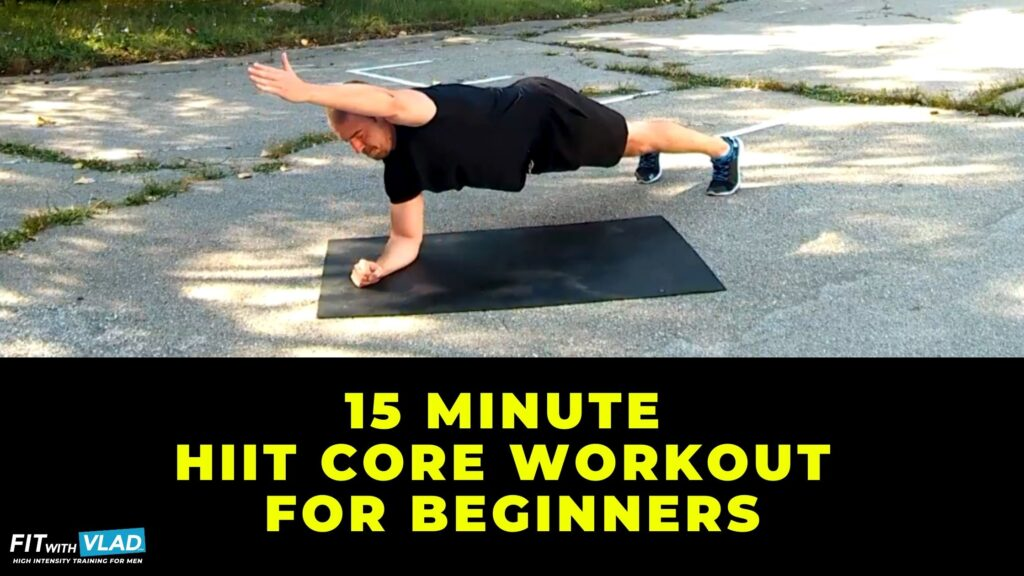 15 Minute HIIT Core Workout For Beginners (No Weights)