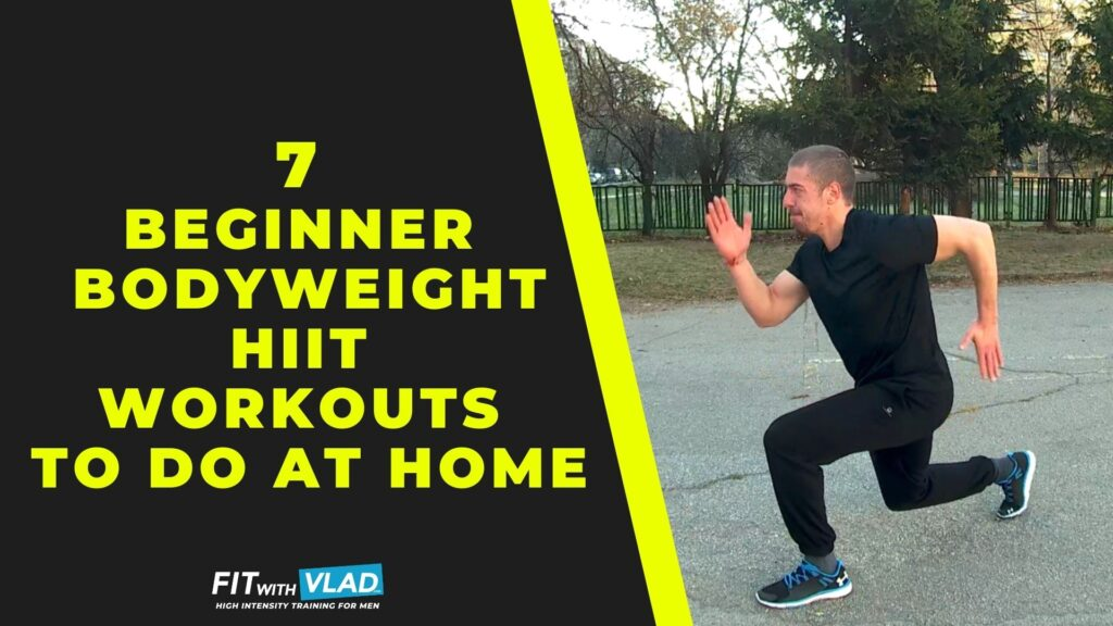 7 Beginner HIIT Workouts To Do At Home (Follow Along!)