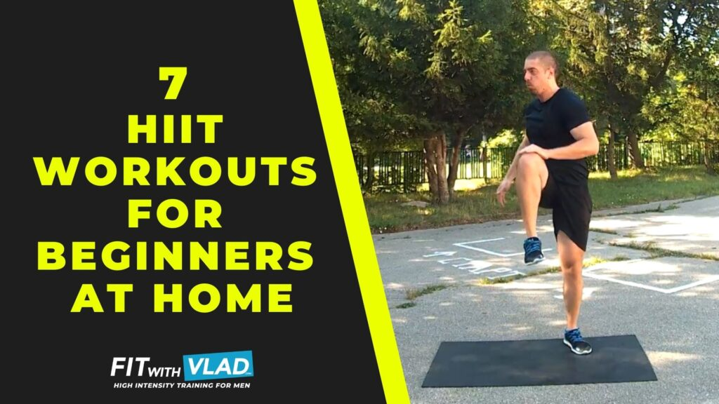 7 HIIT Workouts For Beginners at Home (Follow Along Videos)