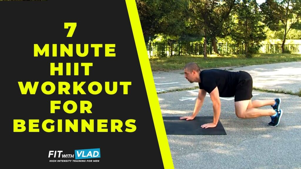 7 Minute HIIT Workout For Beginners (Follow Along Session)