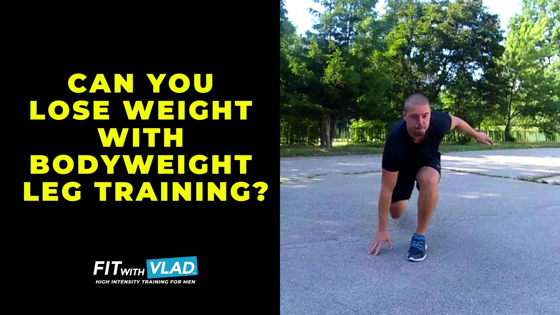 Can You Lose Weight With Bodyweight Leg Workouts