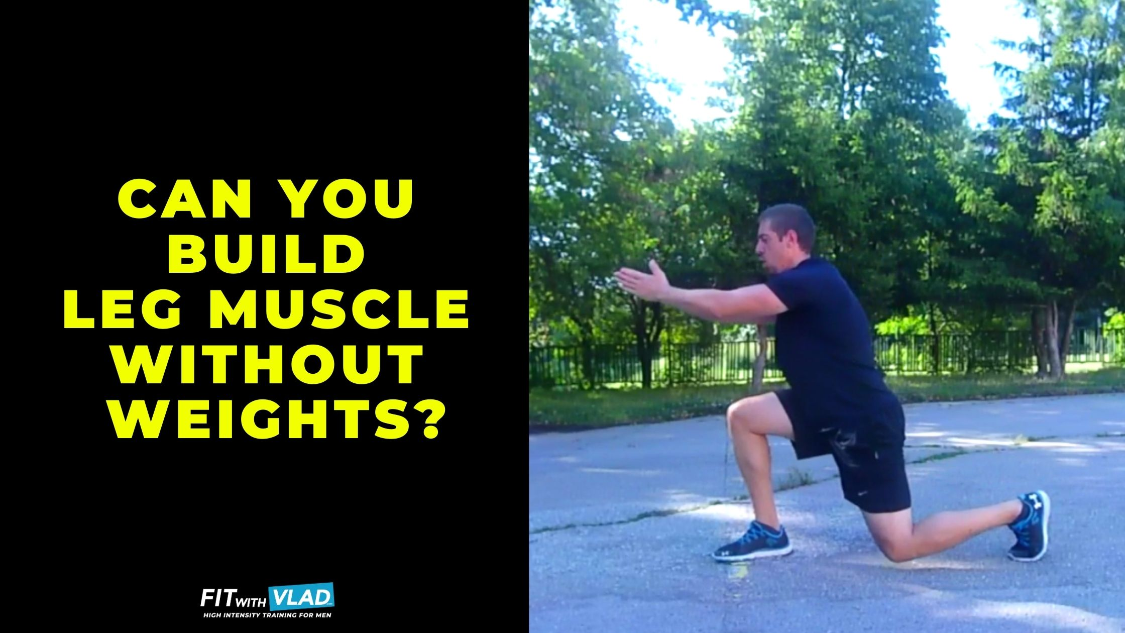 Can you build leg muscle without weights