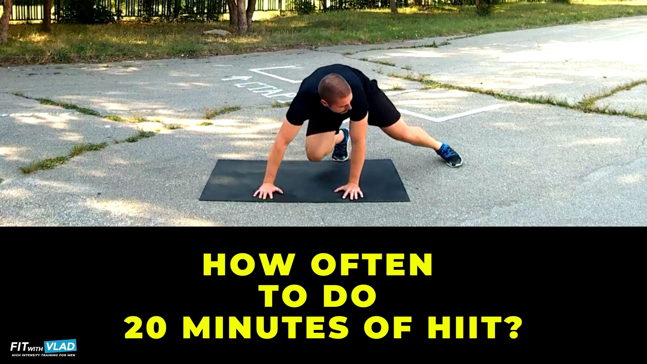 How often to do 20 minute HIIT workouts at home as a beginner