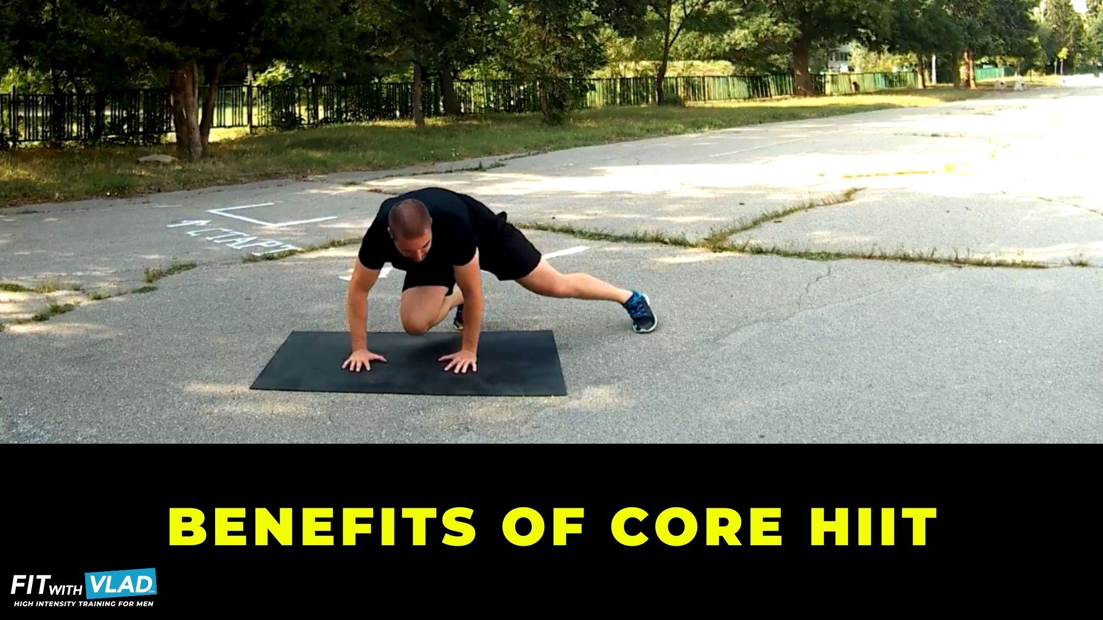 What are the benefits of HIIT core training for the fitness beginner