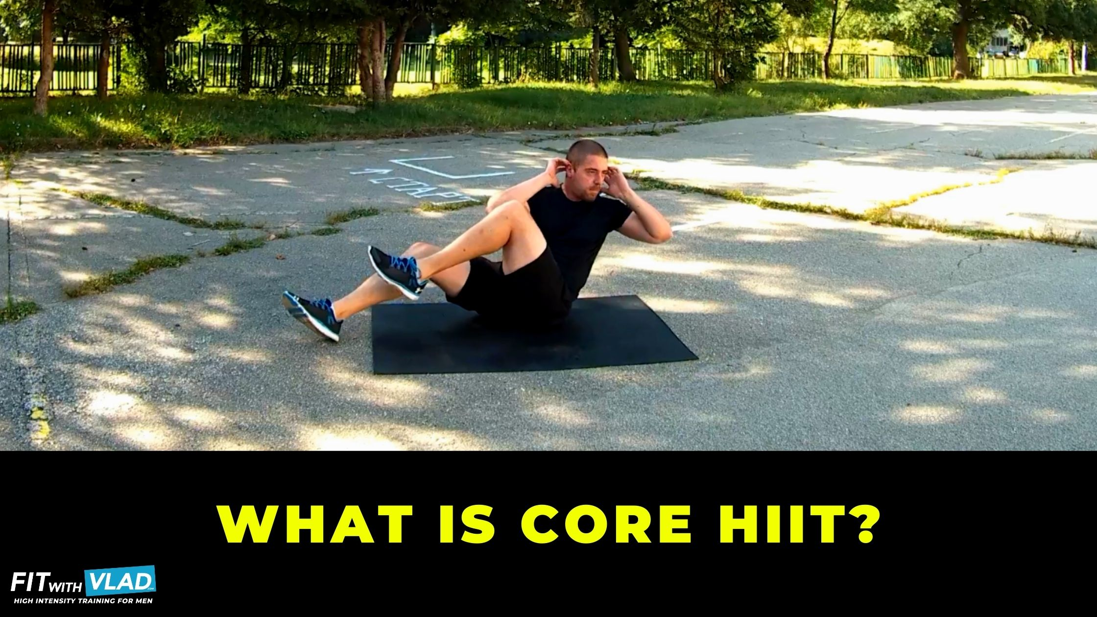 What is HIIT core workout