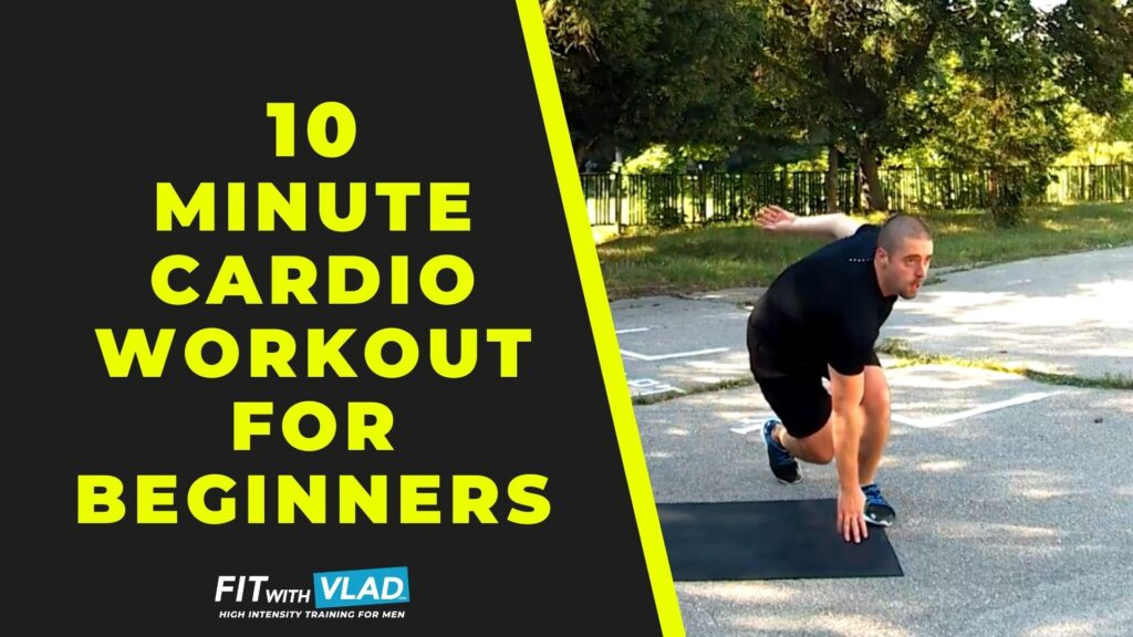 10 Minute Cardio Workout For Beginners at Home (No Equipment)