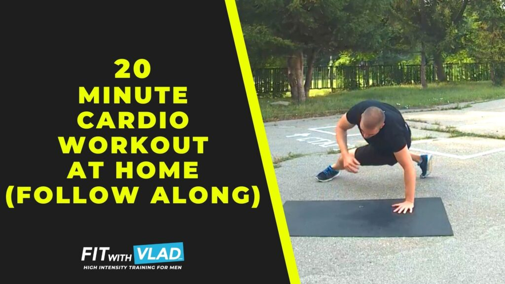 20 Minute Cardio Workout For Beginners at Home (No Weights)