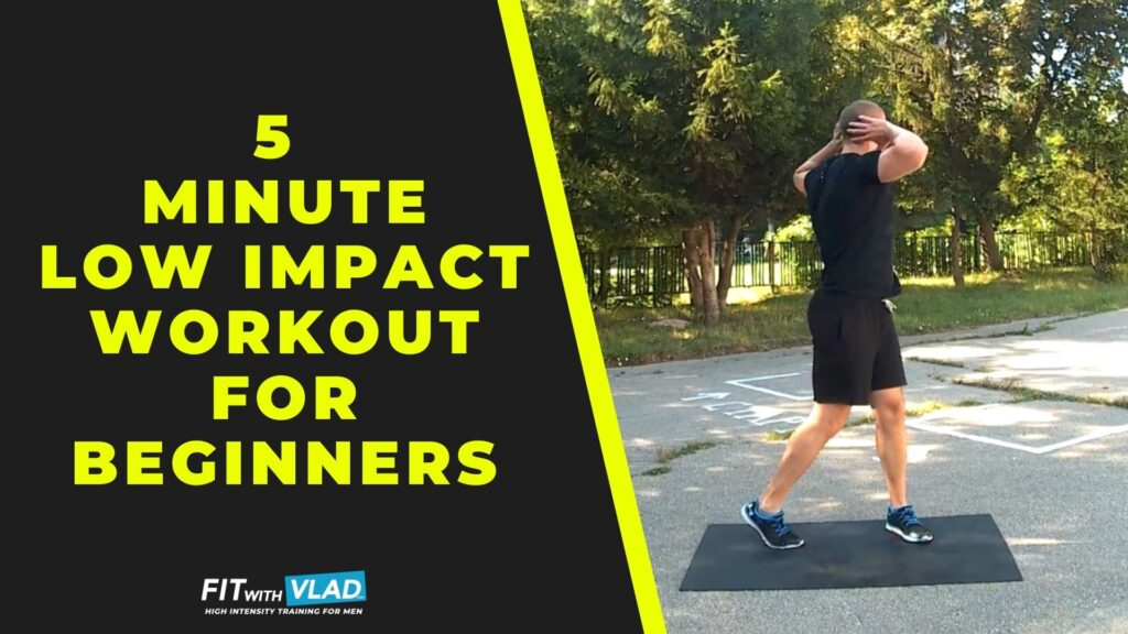 5 Minute Low Impact Workout For Beginners (No Equipment)