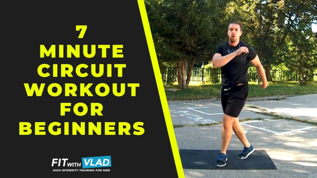 7 Minute Circuit Training Workout For Beginners (No Weights)