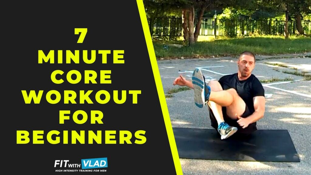 7 Minute Core Workout For Beginners (Complete Ab Routine)