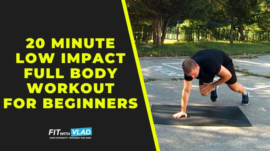 20 Minute Low Impact Full Body Workout For Beginners at Home