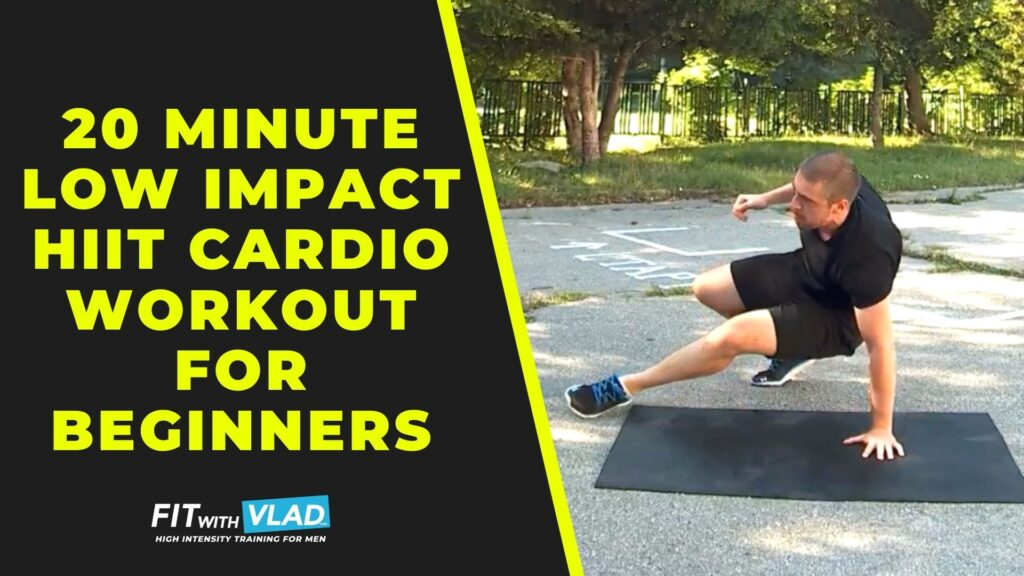 20 Minute Low Impact HIIT Cardio Workout (Beginner Routine)